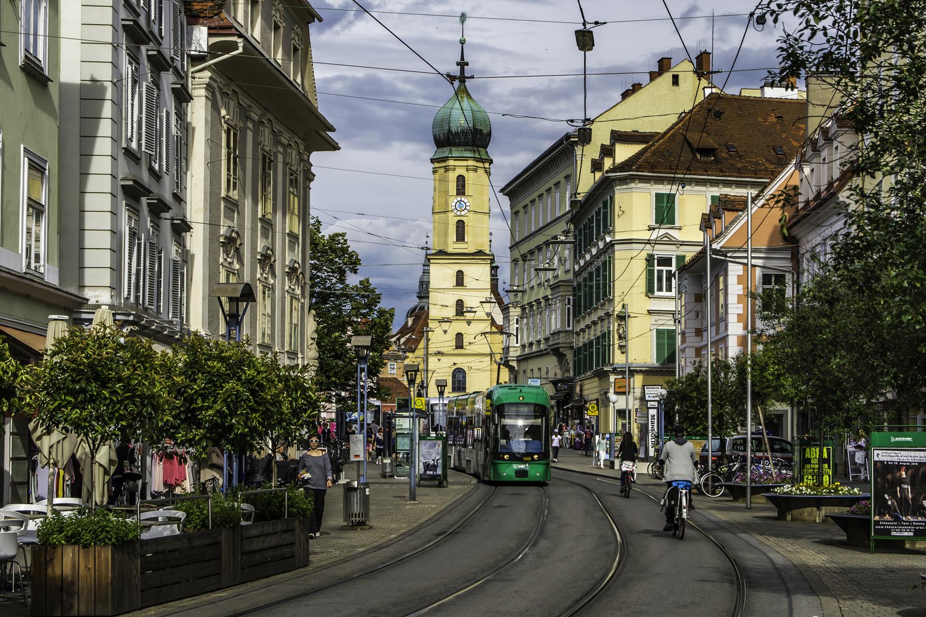 Experiência Erasmus em Graz, Austria, por Fathia!
