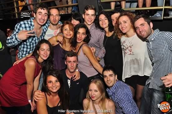 Experiência Erasmus, Miskolc!