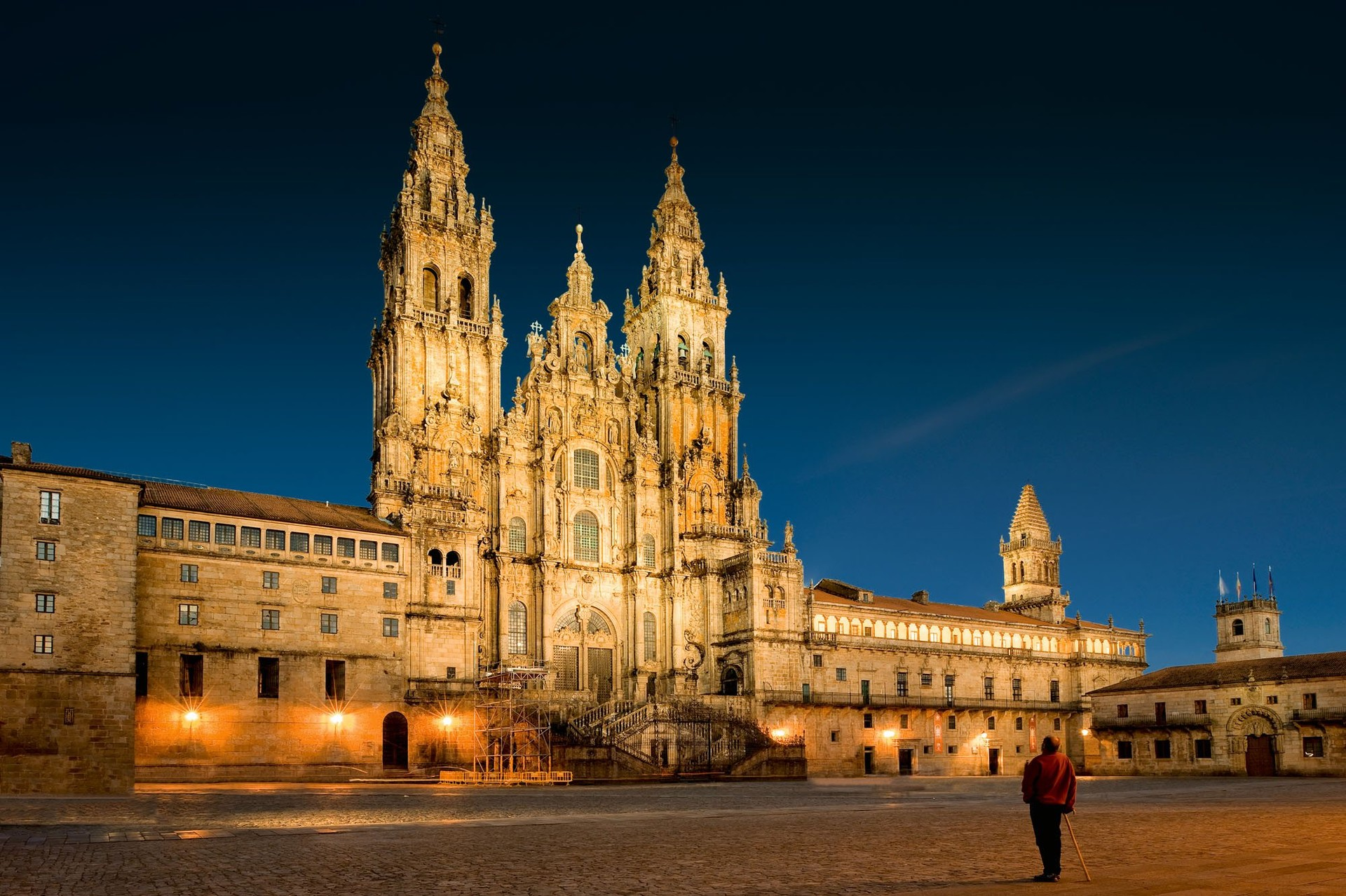 santiago de compostela women Our fully supported journey along the camino de santiago is through the most picturesque parts, starting from leon to santiago de compostella.