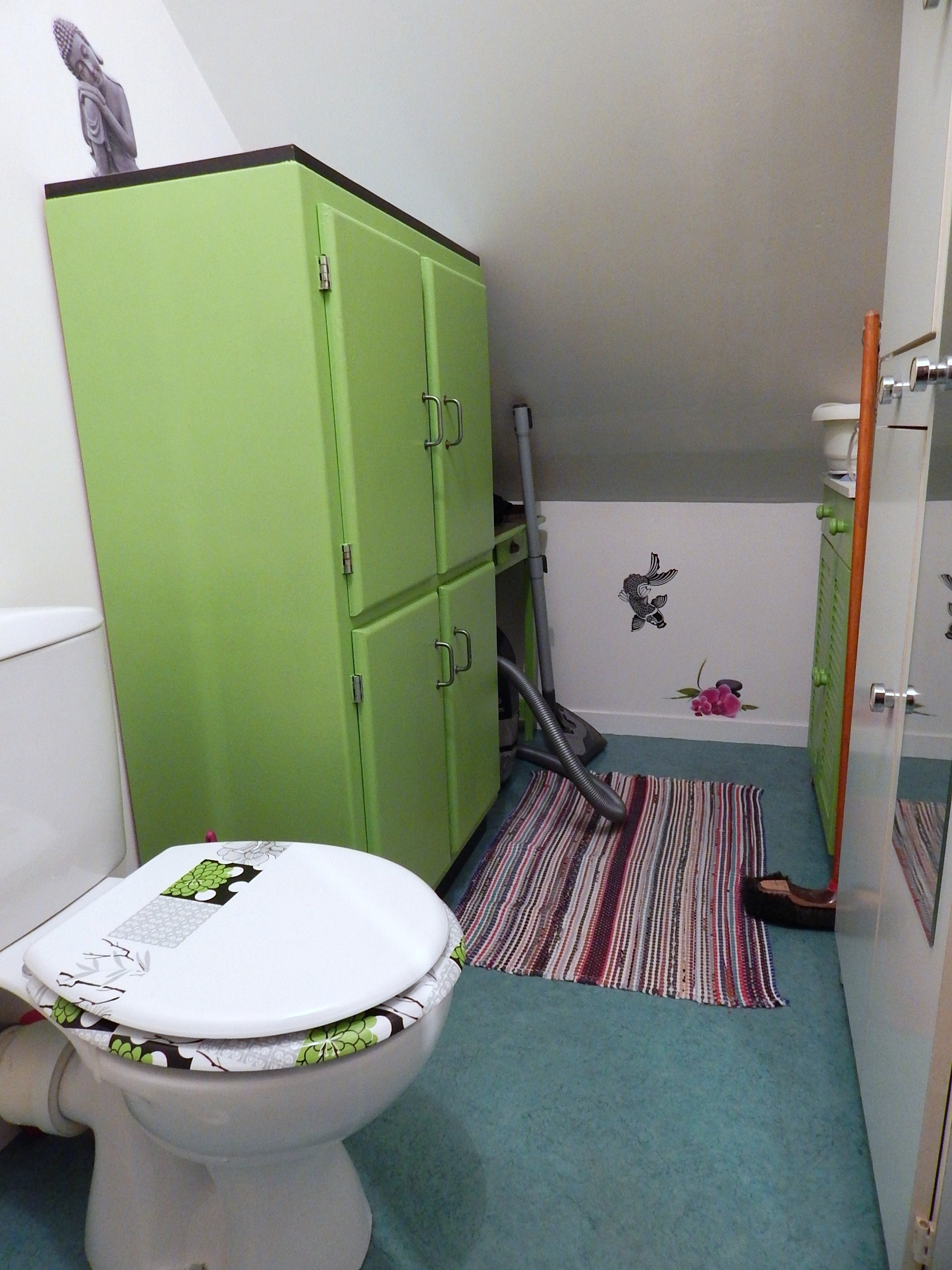 F2 de 52 m² entièrement meublé et équipé  pour étudiant.