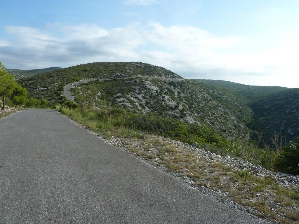 Faire du vélo dans le Parc Naturel de Garraf