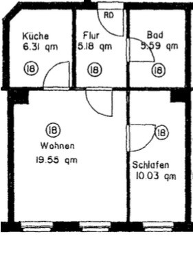 fantastic 2 room flat floor plan. Fantastic 2 room flat in Sudverstadt  Leipzig Flat rent