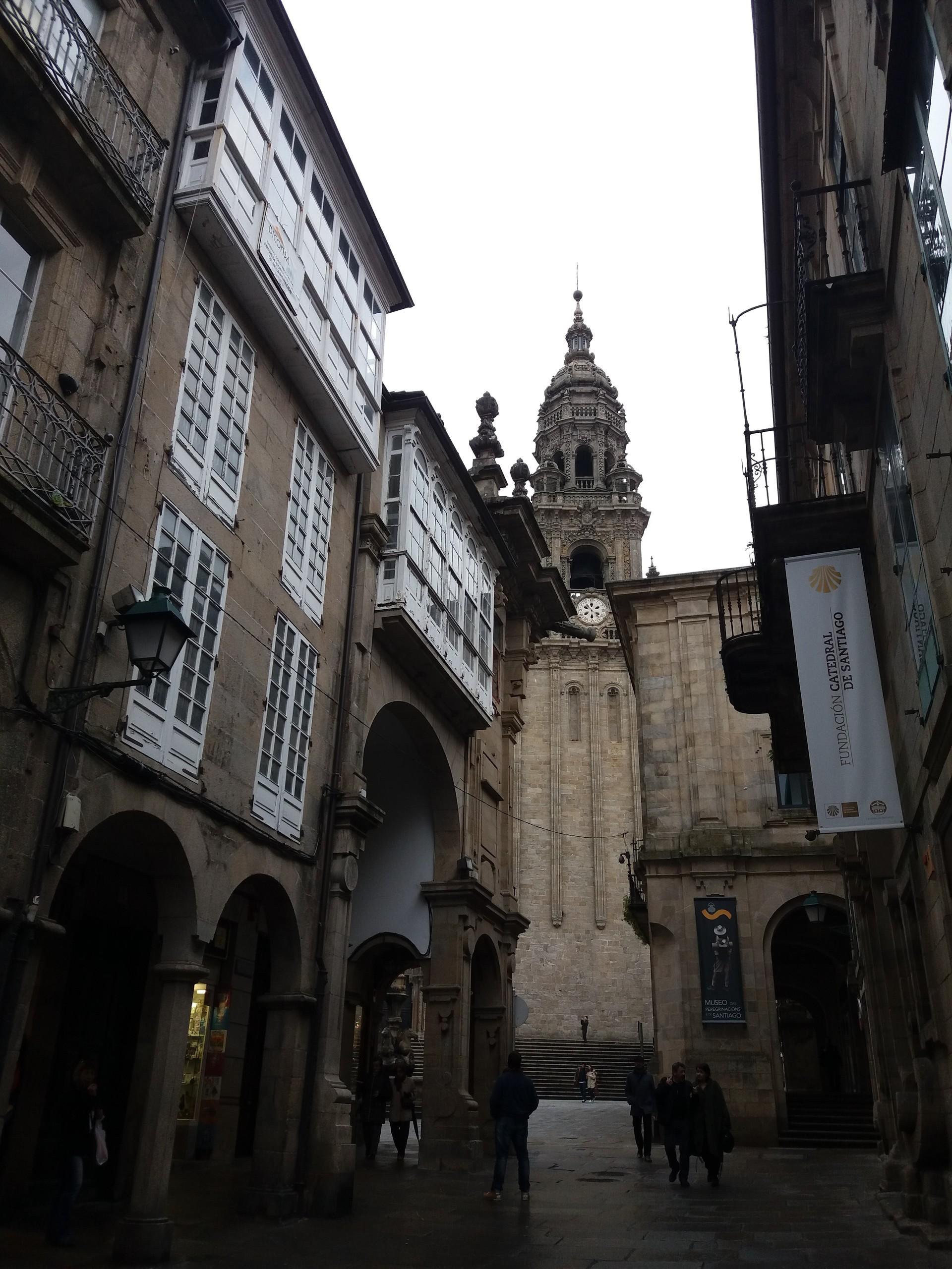 Fim-de-semana em Santiago de Compostela