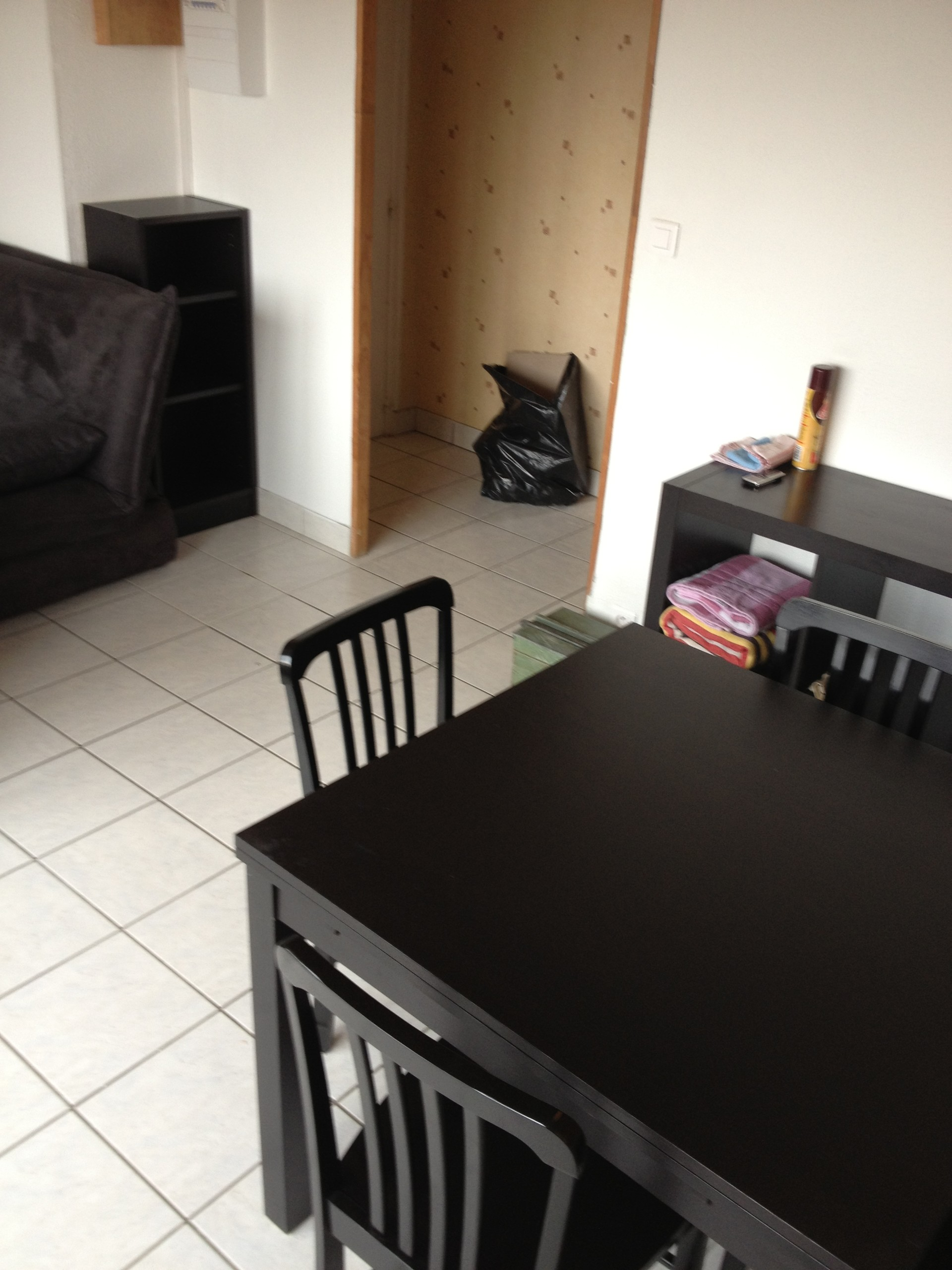 Flat near center town : 45 square meters (furnished with kitchen