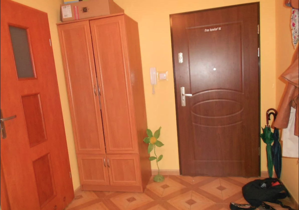 For rent a double room for one person with parking in Wroclaw