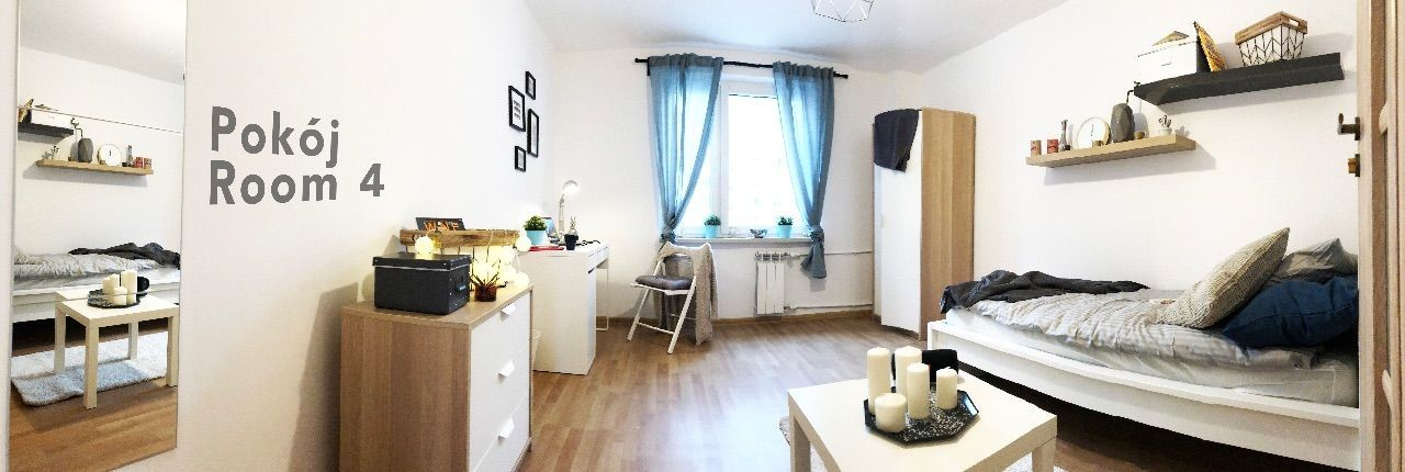 For rent rooms at 18 Rostworowskiego Street in Warsaw.