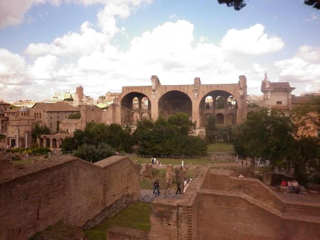 'Forum Romanum' en Roma