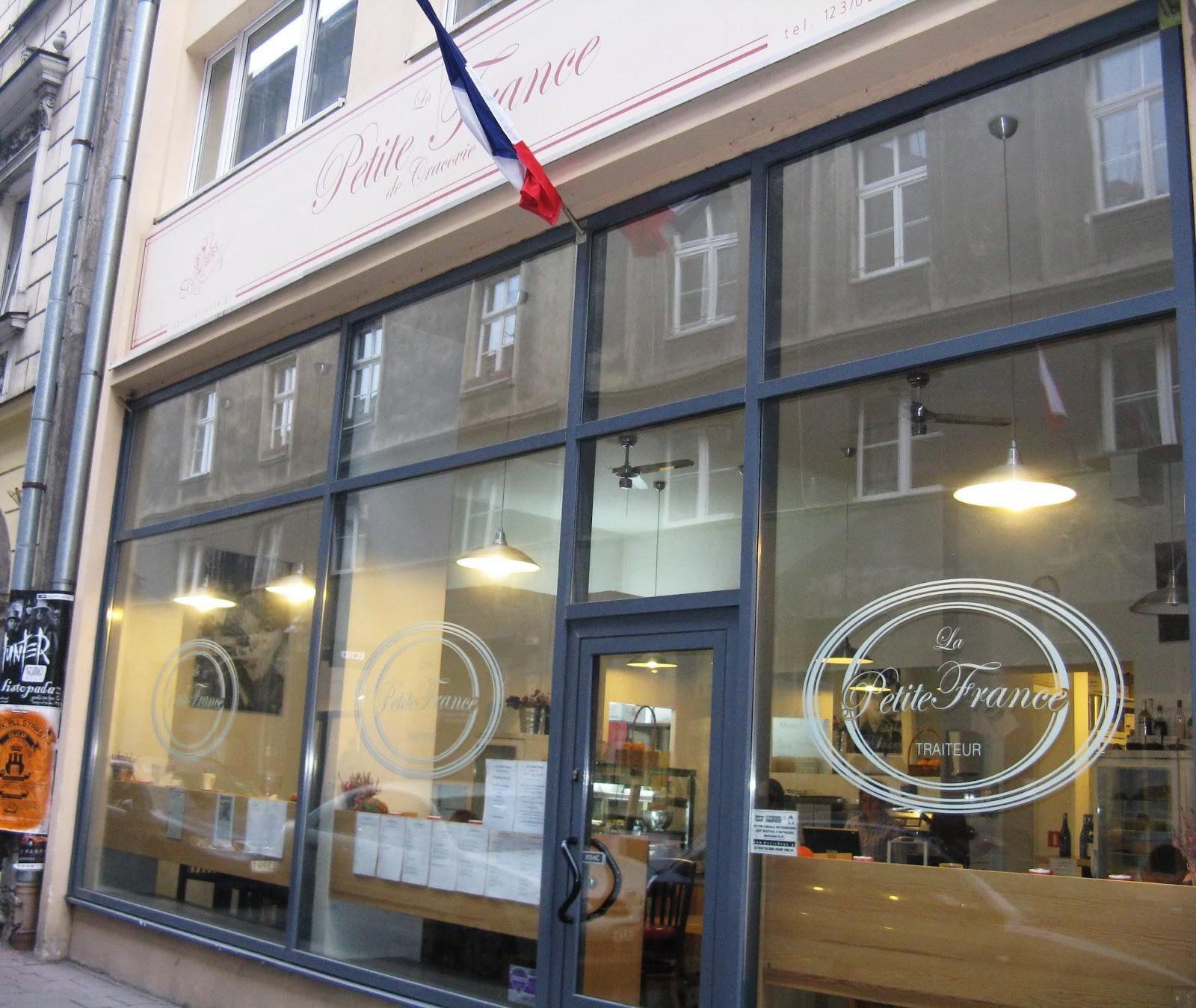 Francuskie produkty w centrum Krakowa