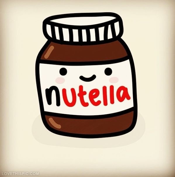 ¡Fruta con Nutella!