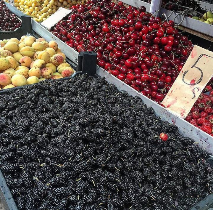 Frutas veraniegas