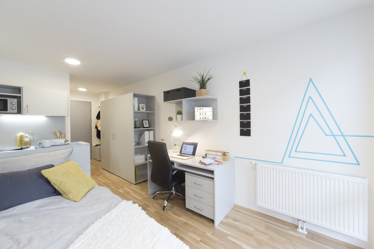 Fully furnished single studio with private kitchen and bathroom ...