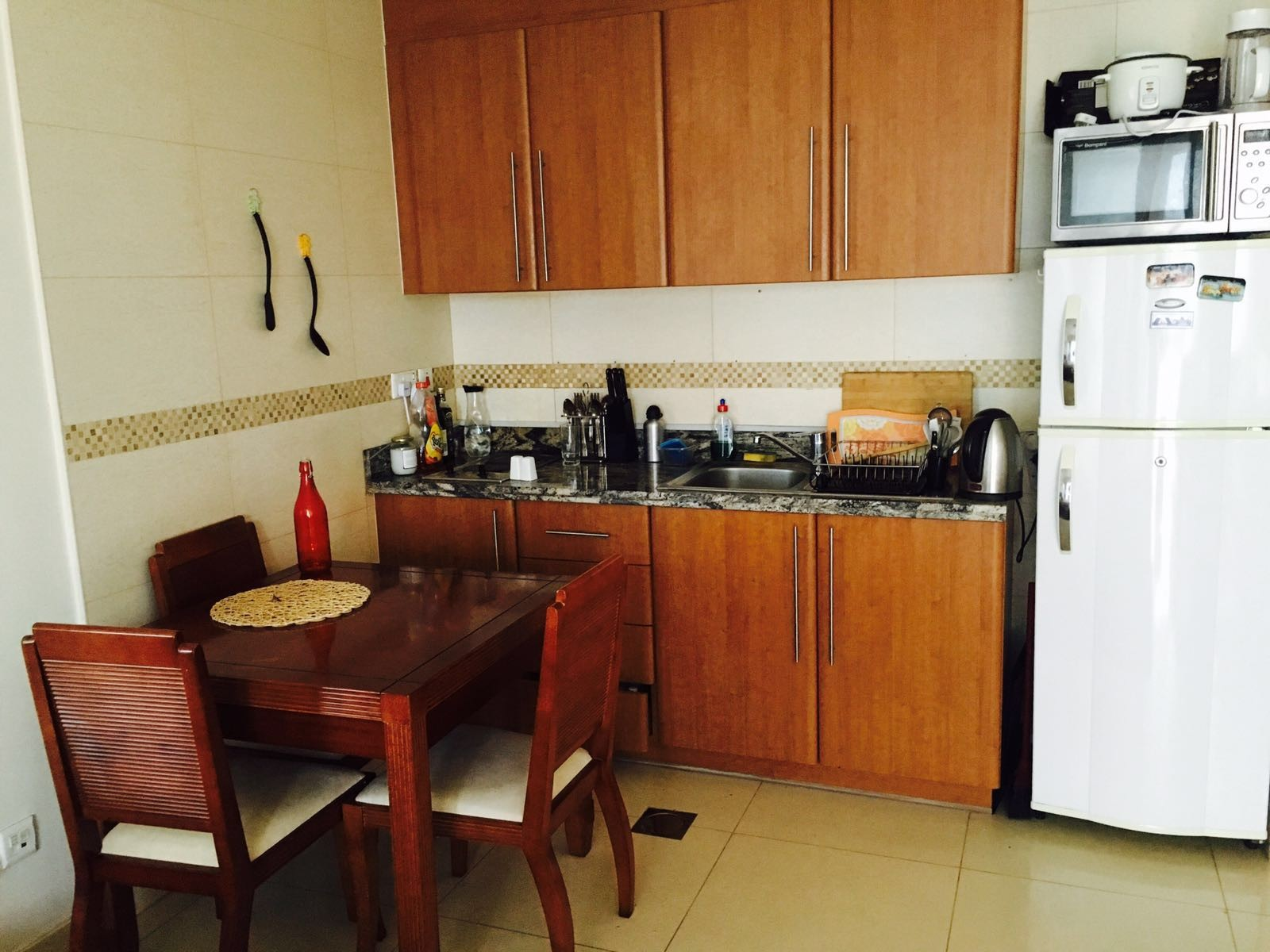 Fully furnished spacious studio apartment with balcony for Furnished studio apartments