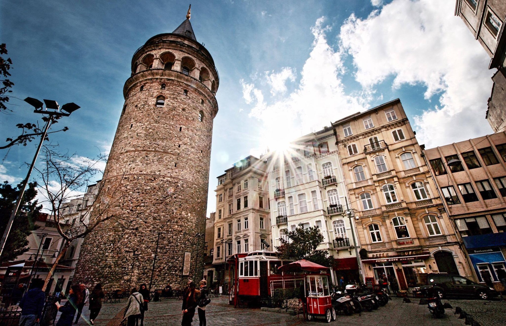 Galata Tower  Erasmus tips