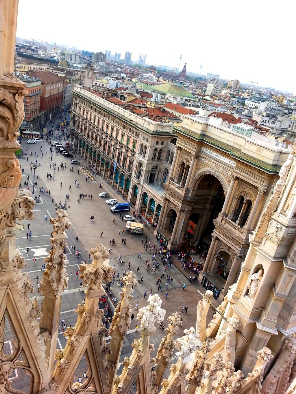 Galleria Vittorio Emanuele II - il Salotto di Milano