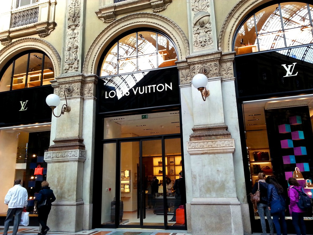 Galleria Vittorio Emanuele II – Le salon de Milan