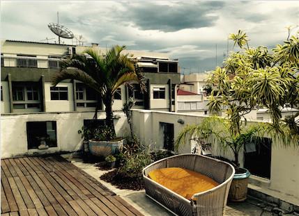 Garden studio Bungalow with private terrace
