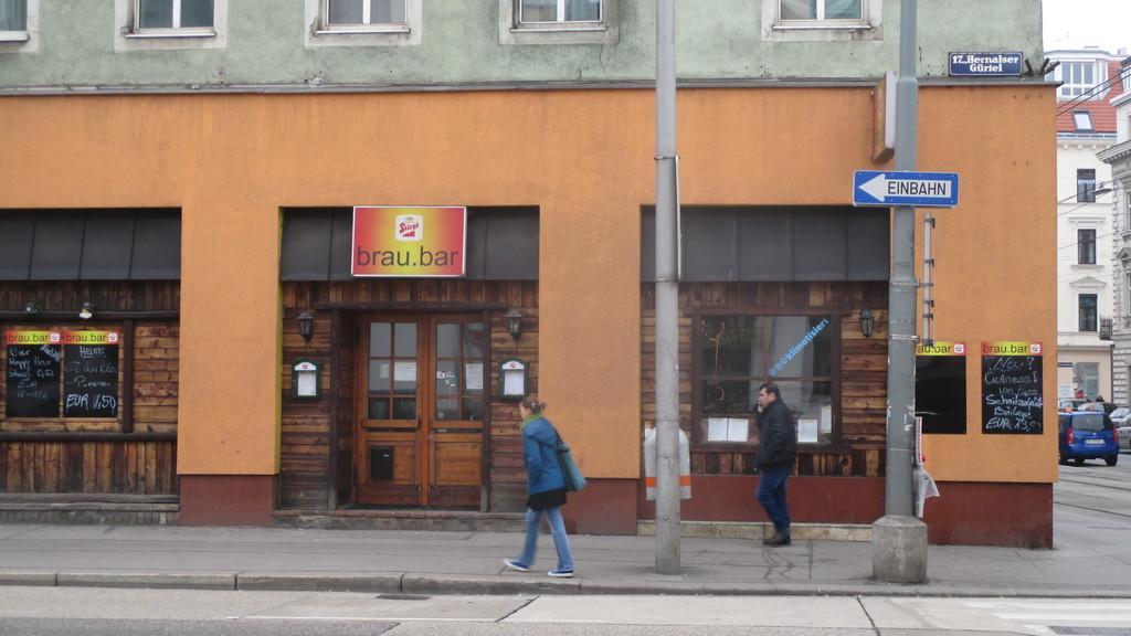 German language cafe at Brau Bar (My Erasmus alternative)