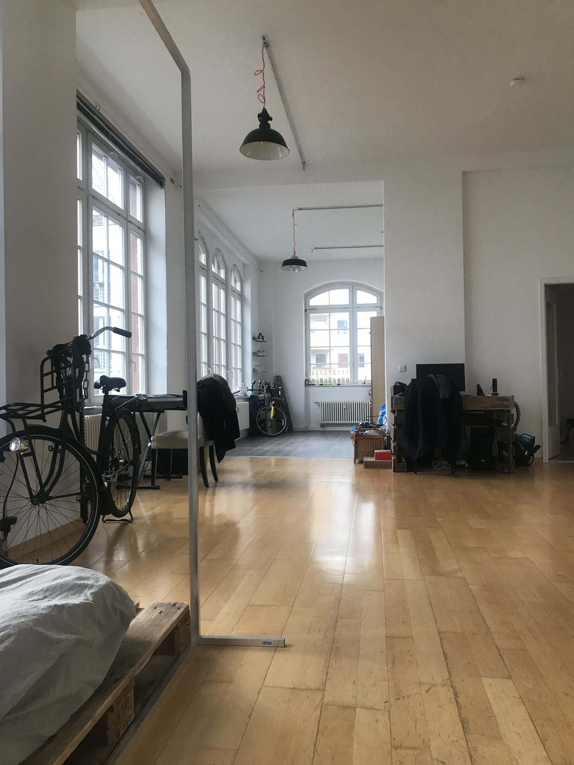Gorgeous And Very Spacious 100m2 Loft Apartment In Mitte Room For Rent Berlin