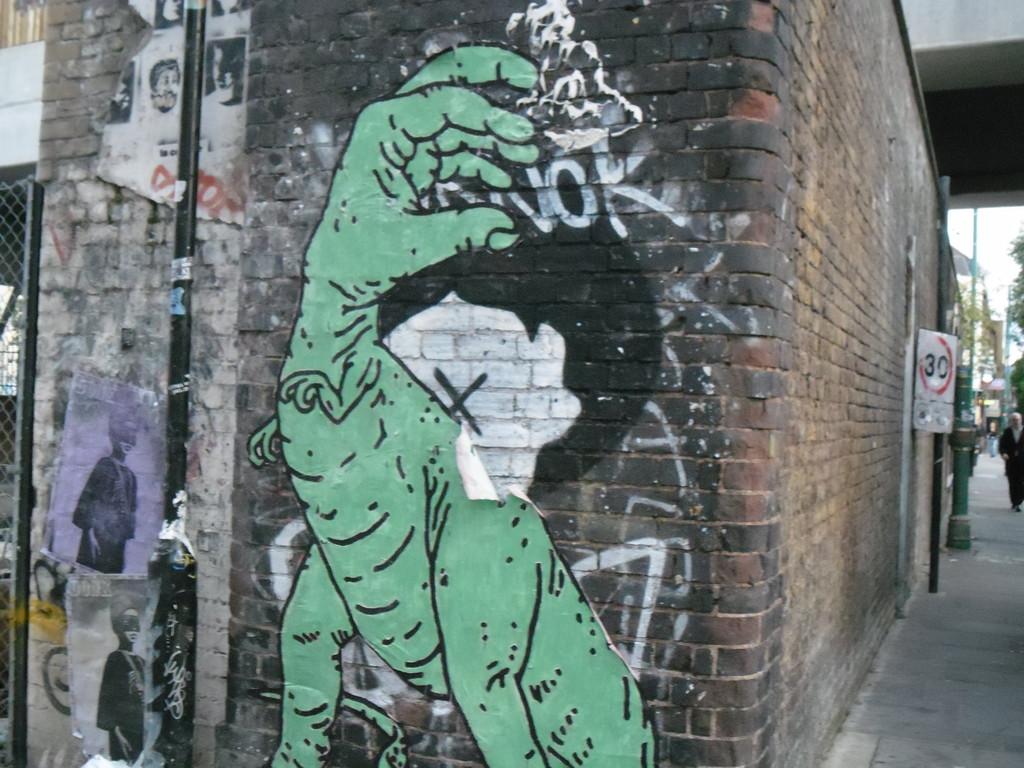 Graffiti di Londra Est