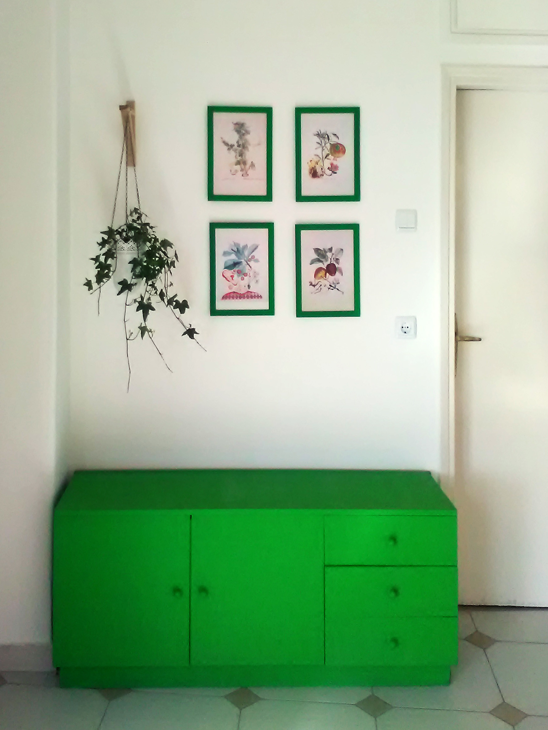 Green+Sunny appartment