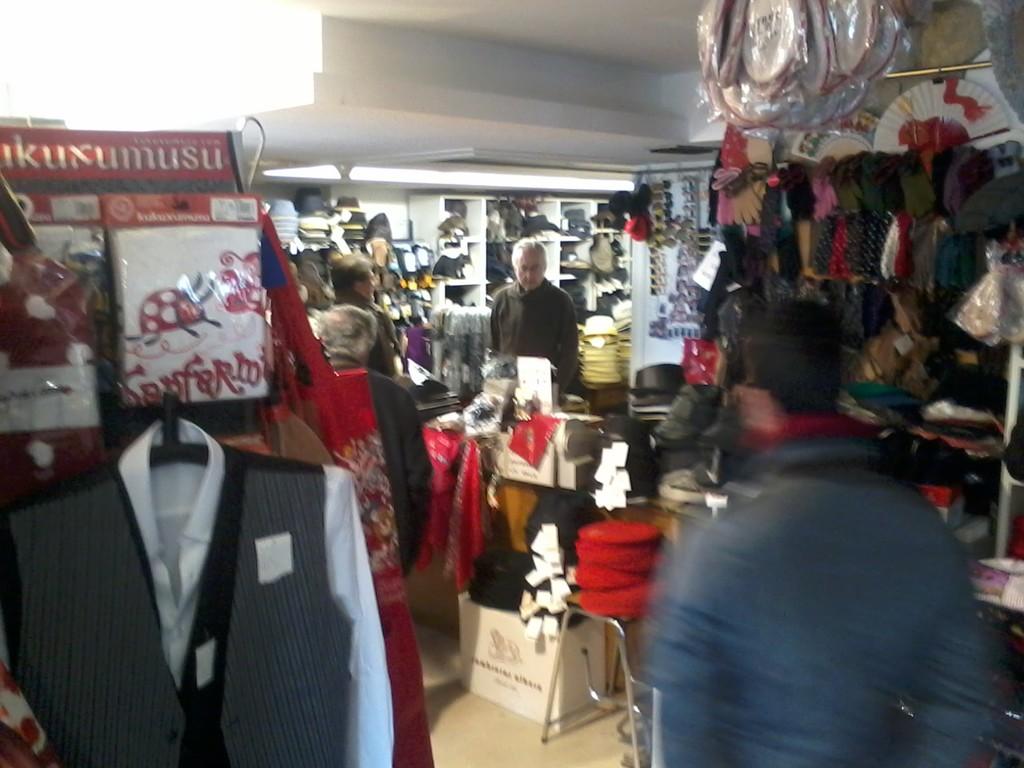 Gutierre's hat shop