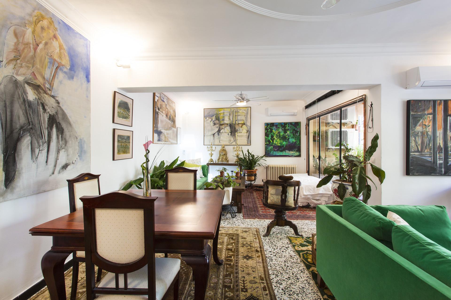 Habitación amplia y silenciosa en piso céntrico (Palma de Mallor