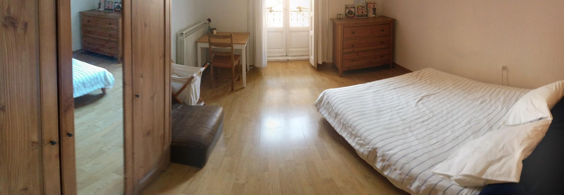 Habitacion amplia y luminosa en el centro de madrid - Alquiler de habitacion en madrid ...