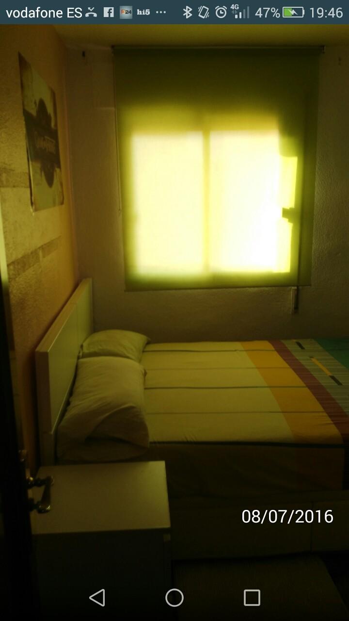 Habitación doble en piso luminoso y acogedor