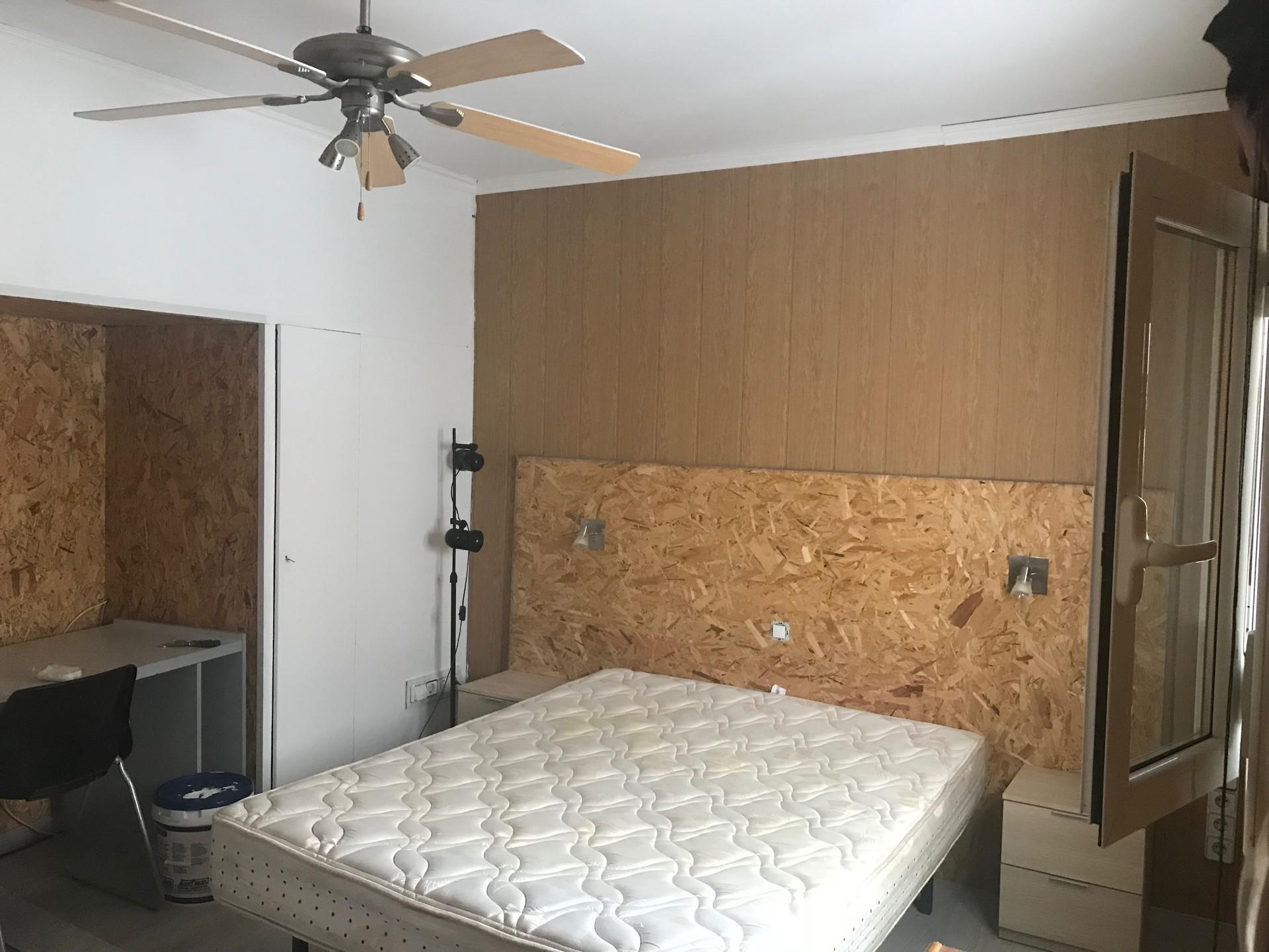Habitación doble en piso listo para entrar a vivir