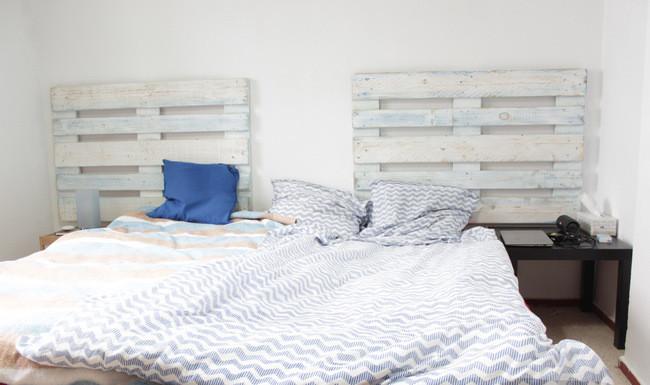 Matrimonio Bed : Habitación en piso de estudiantes con cama de matrimonio room
