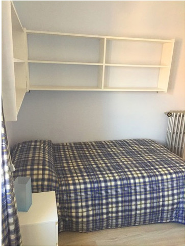 Habitación ideal para estudiantes en residencia de