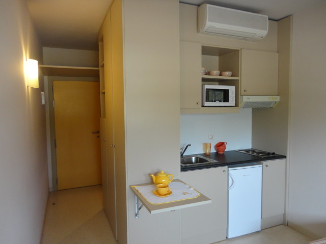 Habitaci n individual con ba o y cocina en la universidad Diseno de habitacion con bano y cocina