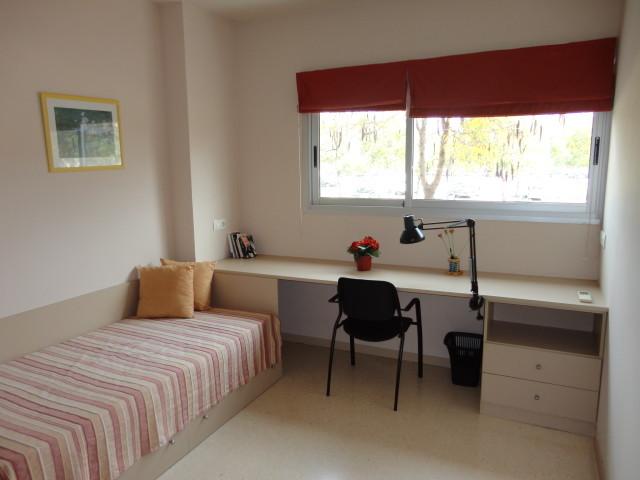 Habitaci n individual con cocina y ba o en la universidad for Cursos de cocina en castellon