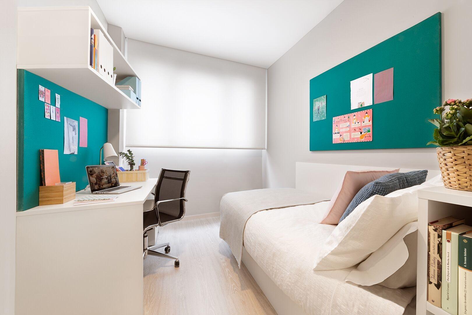 Habitaci n individual colegio mayor el faro residencias for Se alquila habitacion para estudiantes