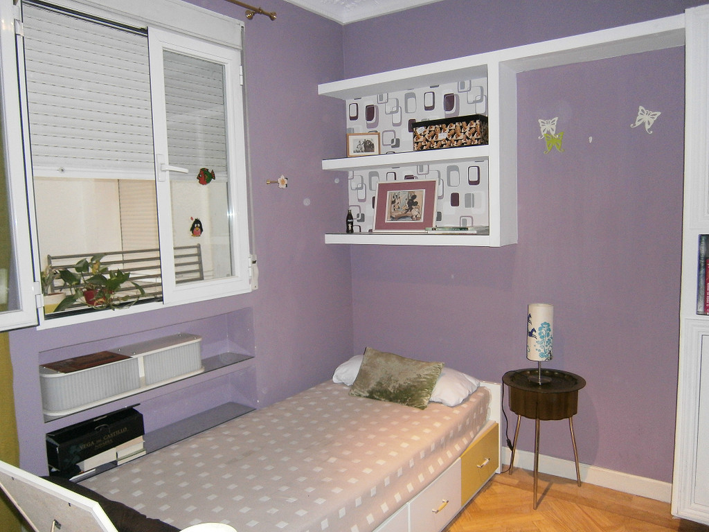 Habitaci n tranquila e independiente en piso compartido for Habitacion cuadruple madrid