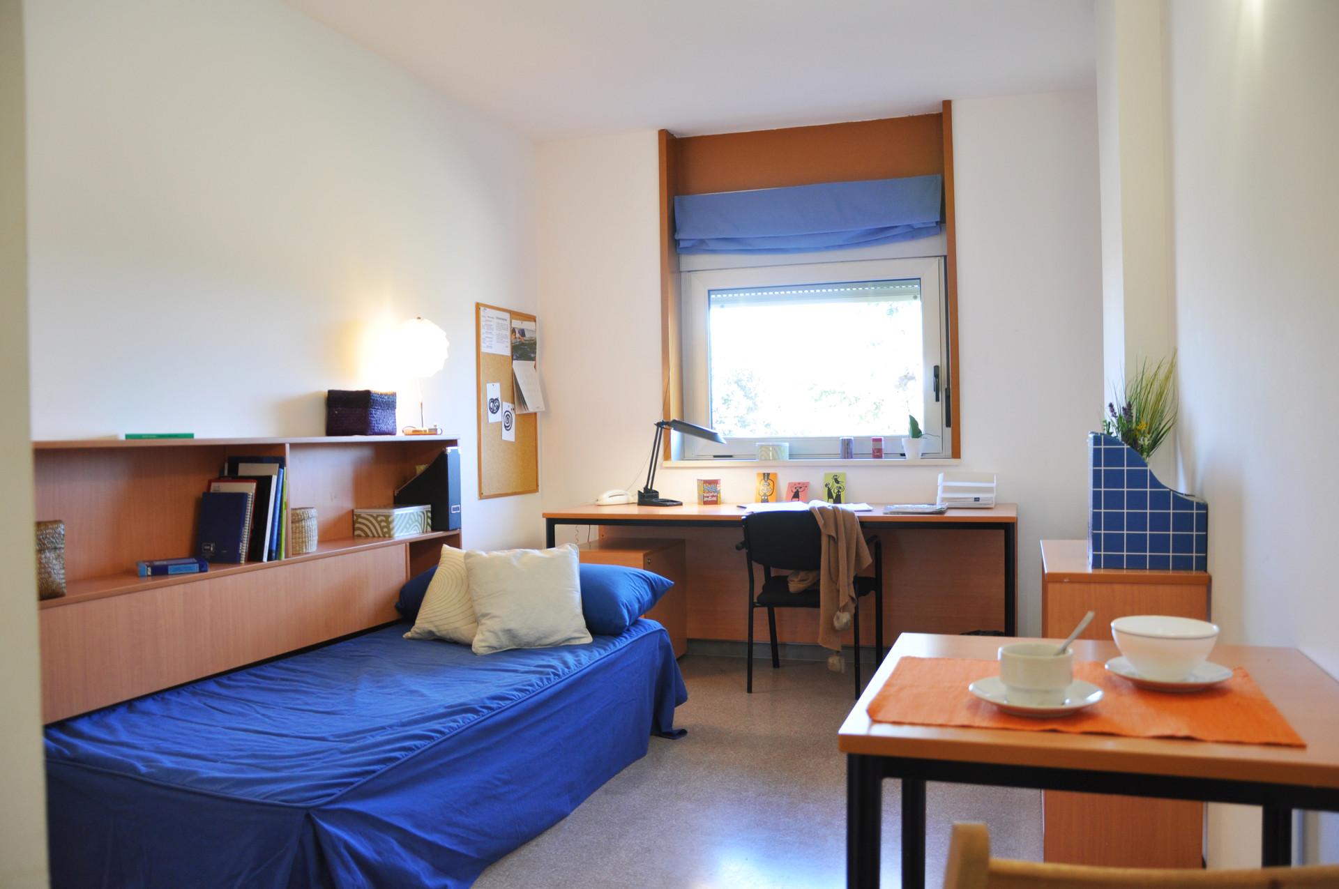 Habitaciones en residencia universitaria campus de for Dormitorio universitario