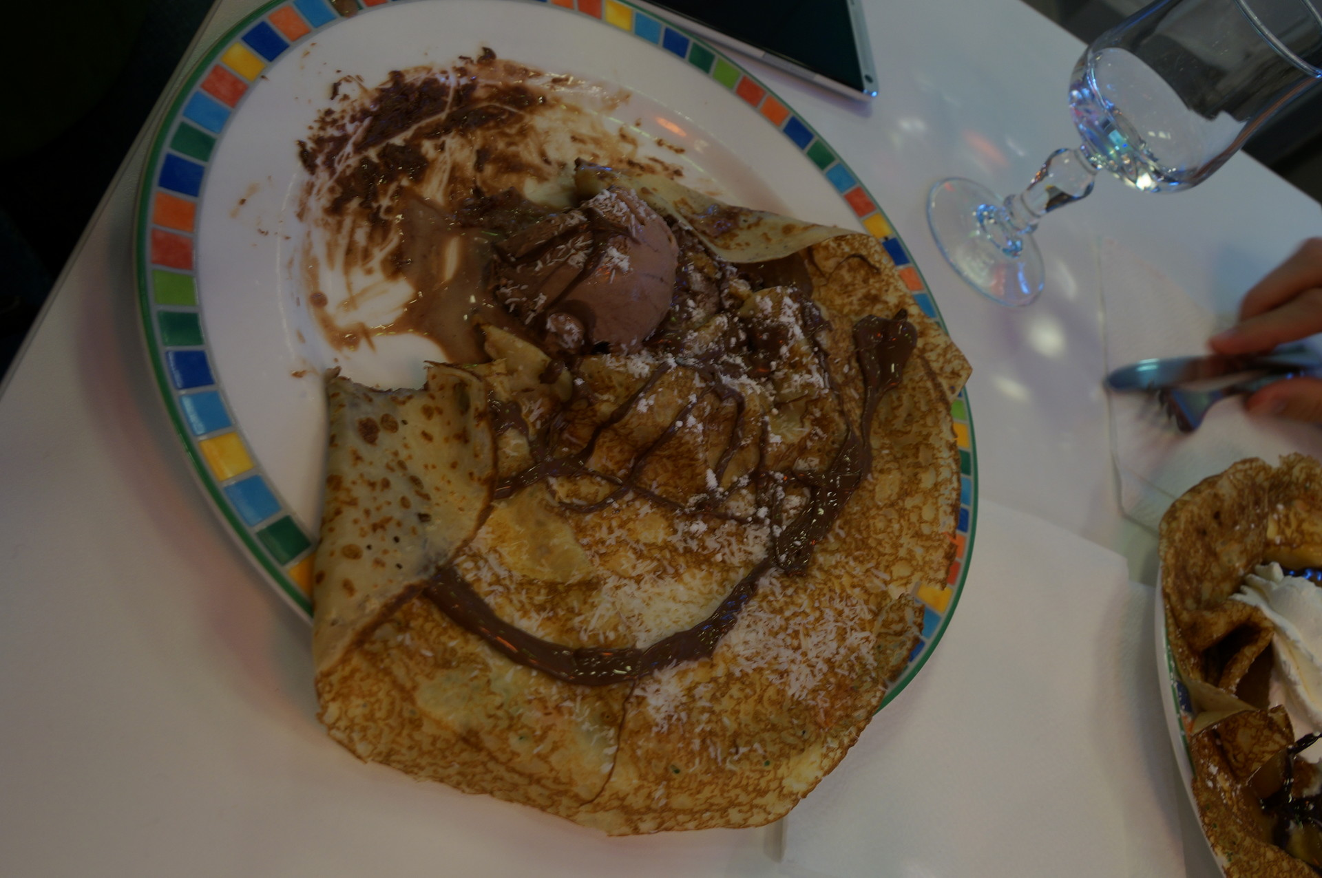 Heavenly good crepes