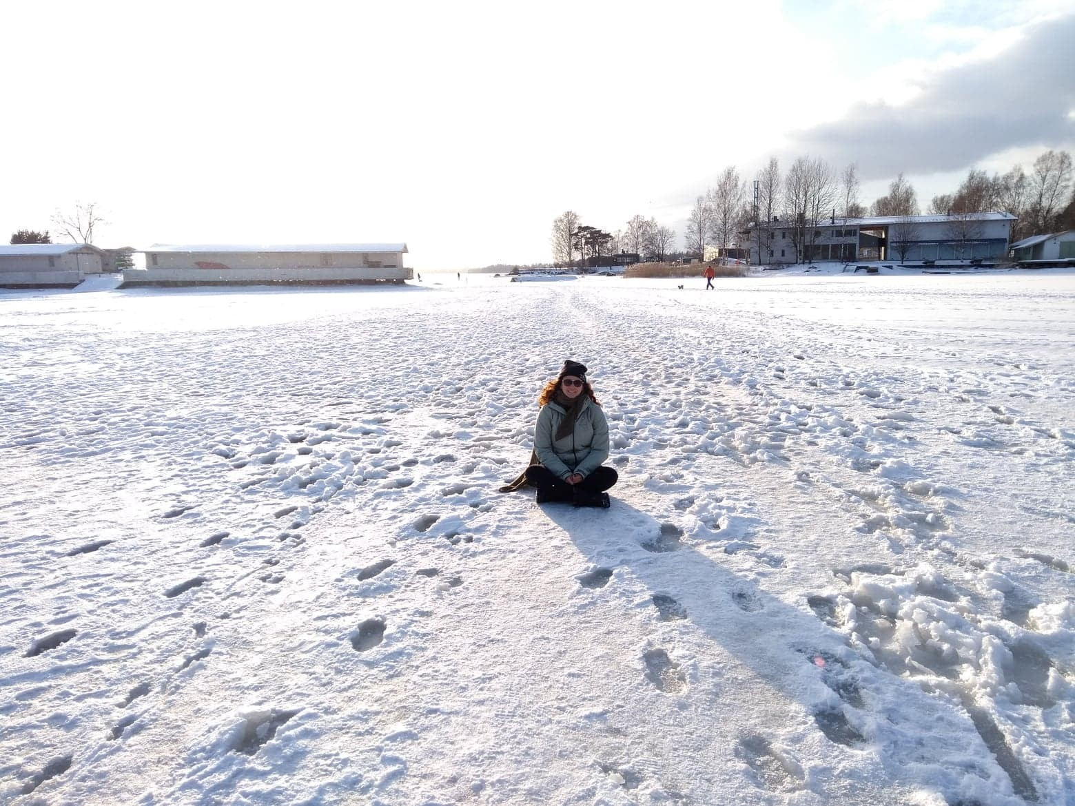 Helsinki no Inverno!