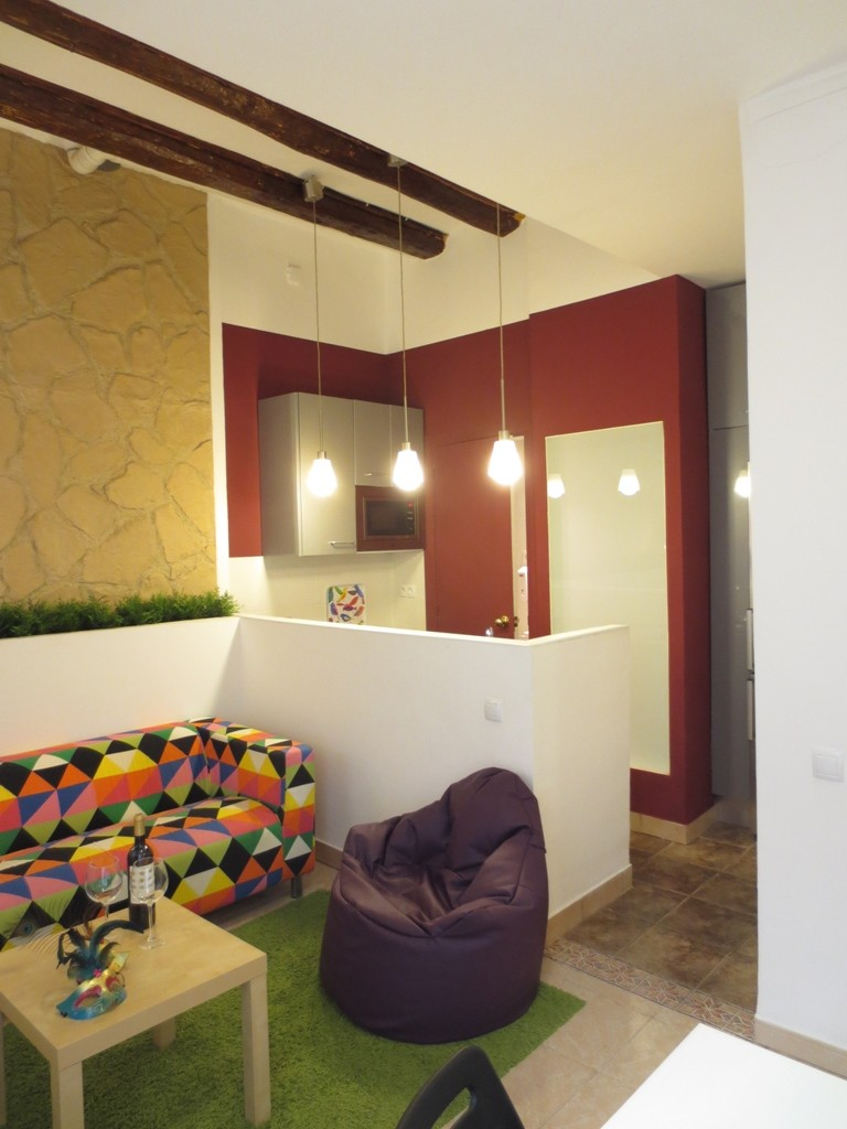 Hipster Place Wifi For 2 3 People Flat Rent Barcelona # Meuble Tv Ypster