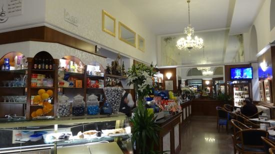 Historical cafes at Trieste