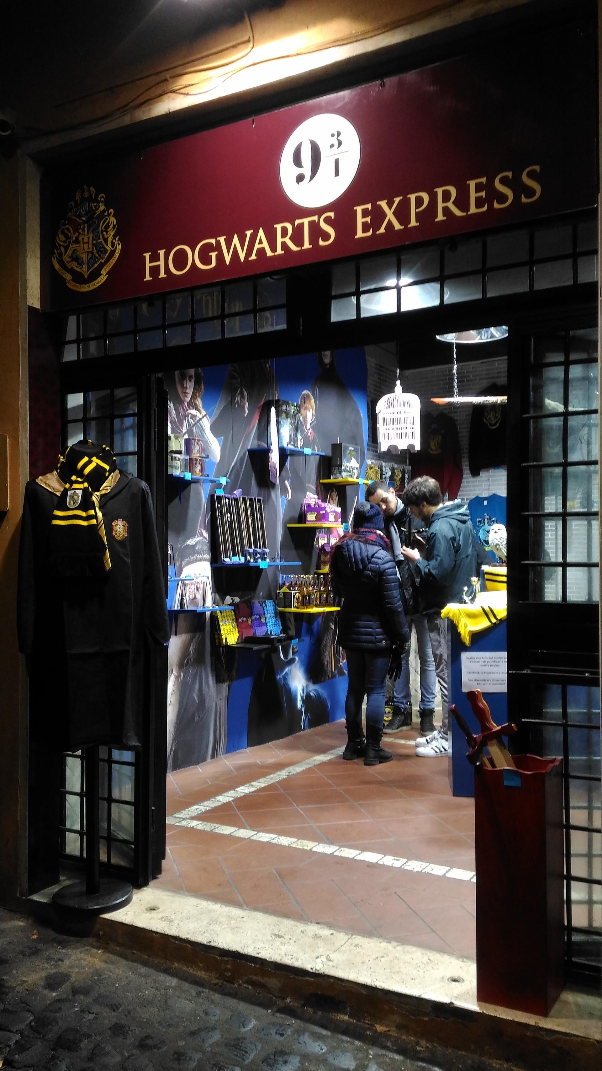 Hogwarts Express a Roma