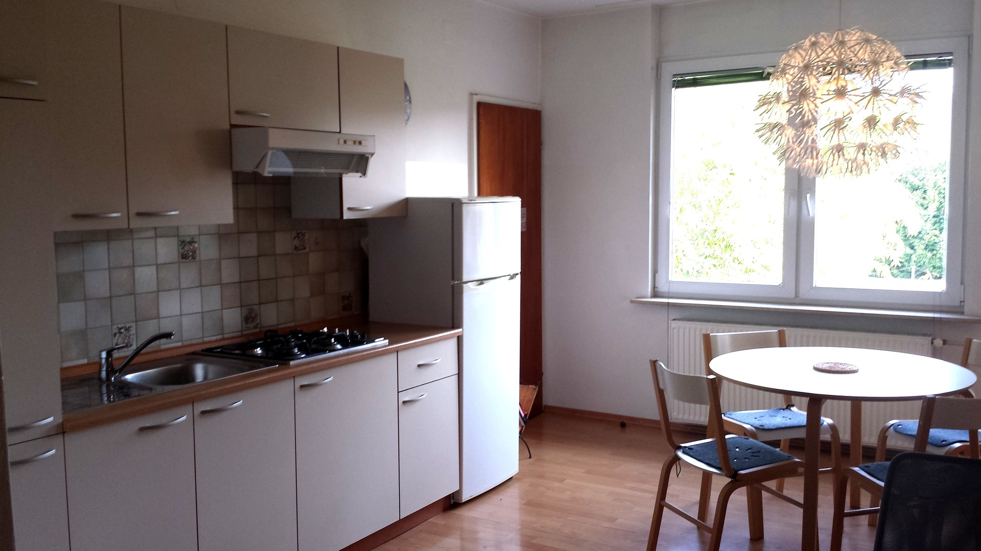 Home away from home: Great single room with fantastic view
