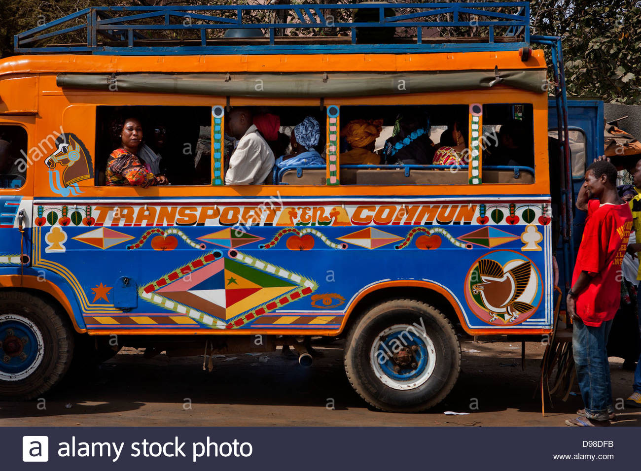 I trasporti a Dakar