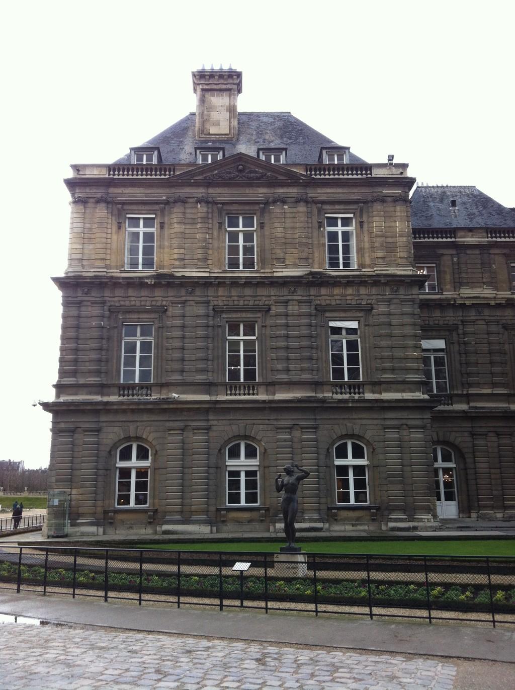 il giardino di Lussemburgo Parigi