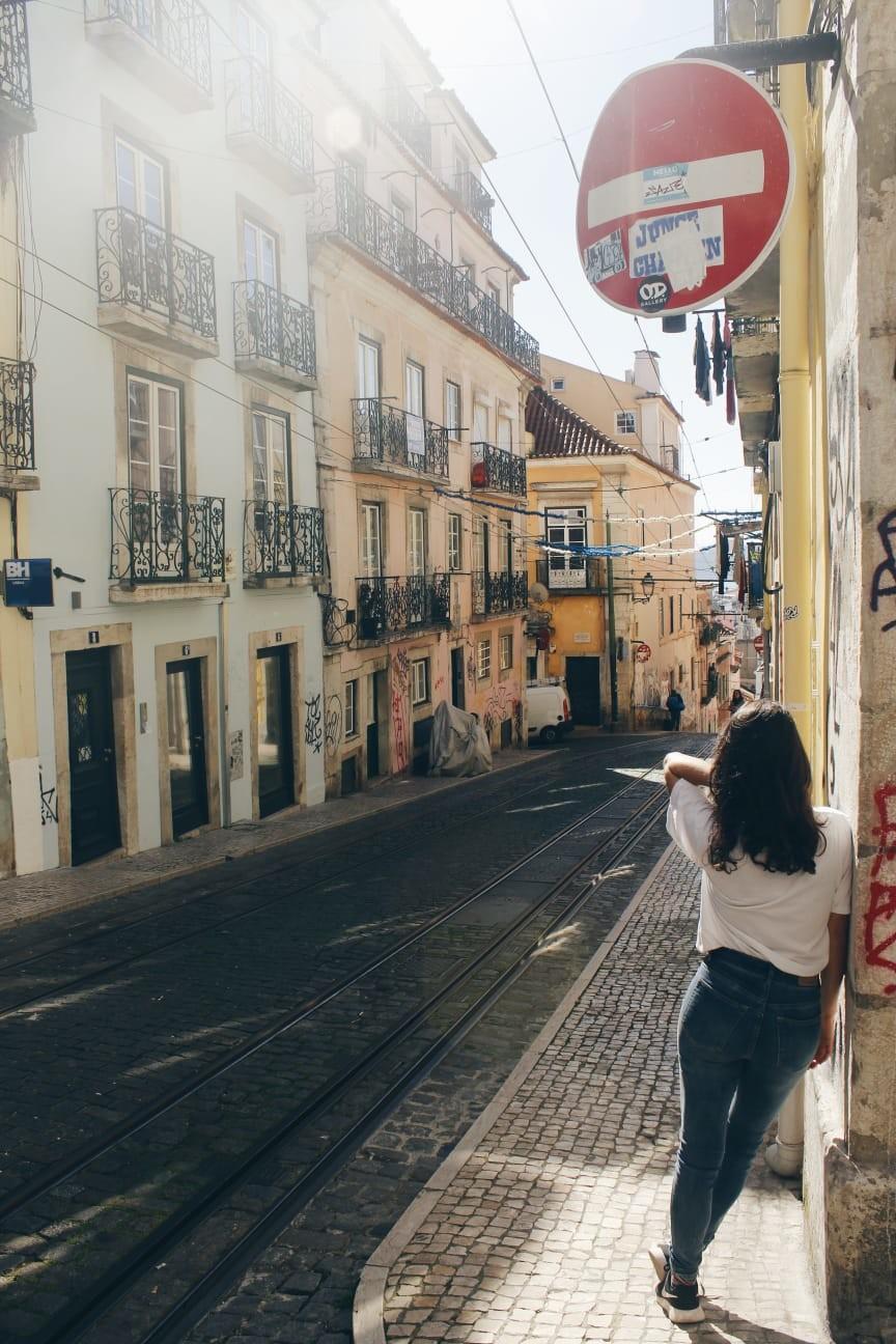 Il mio itinerario a Lisbona, Portogallo