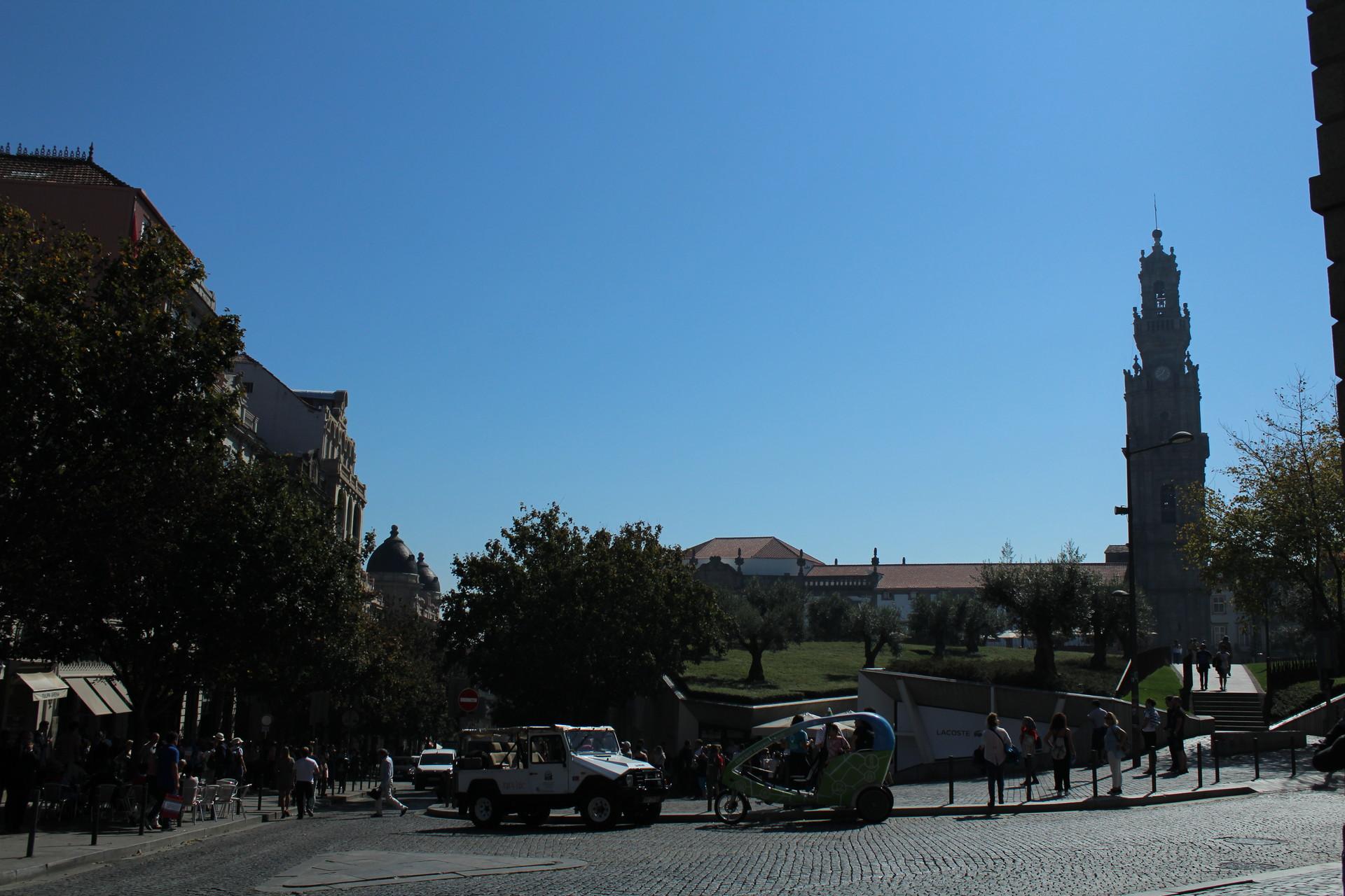 Imposing monument
