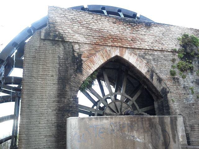 Irrigation water wheel
