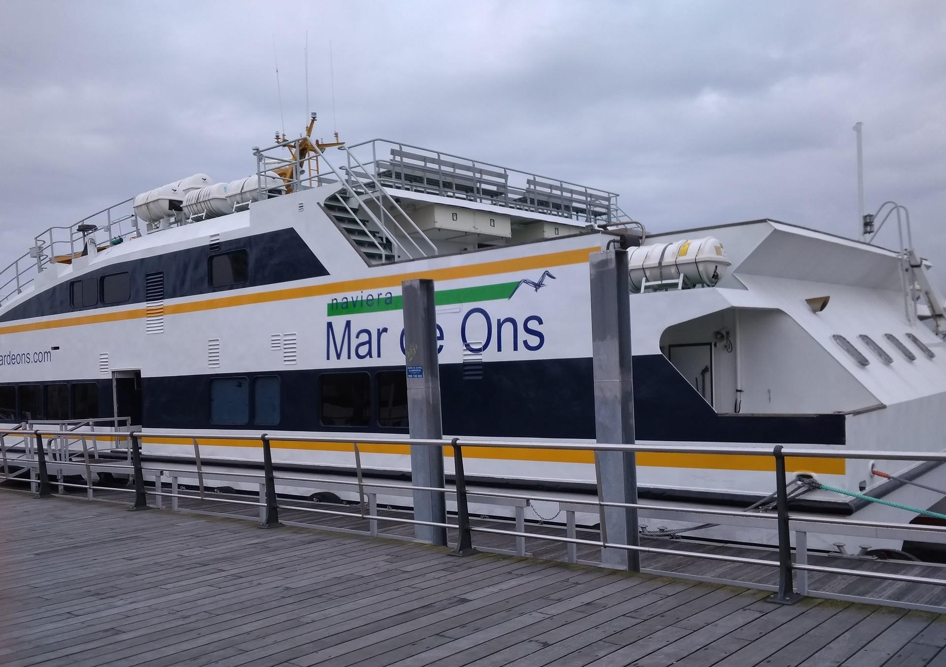 Islas Cíes: Ruta en barco