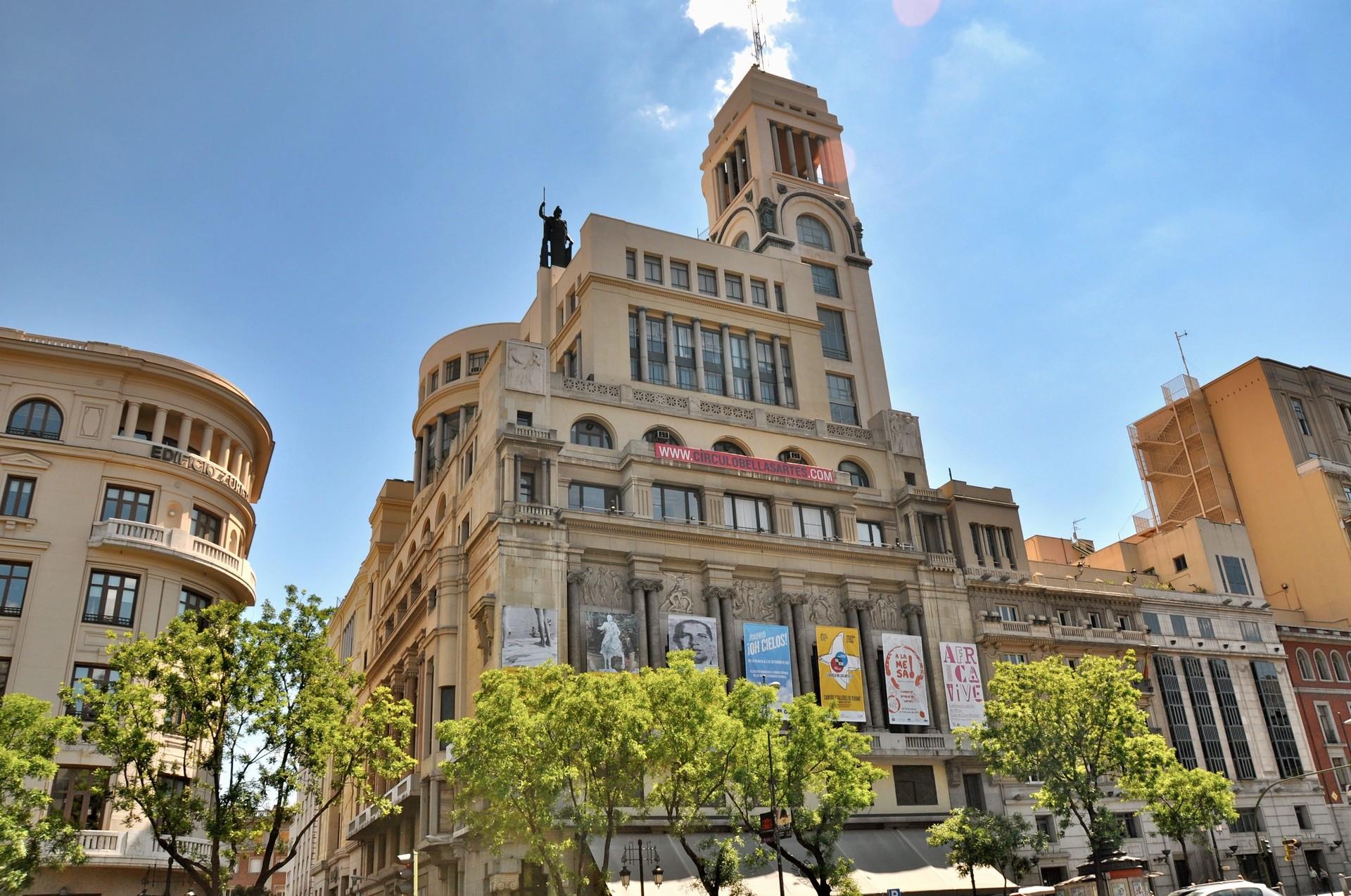 Círculo De Las Bellas Artes What To See In Madrid