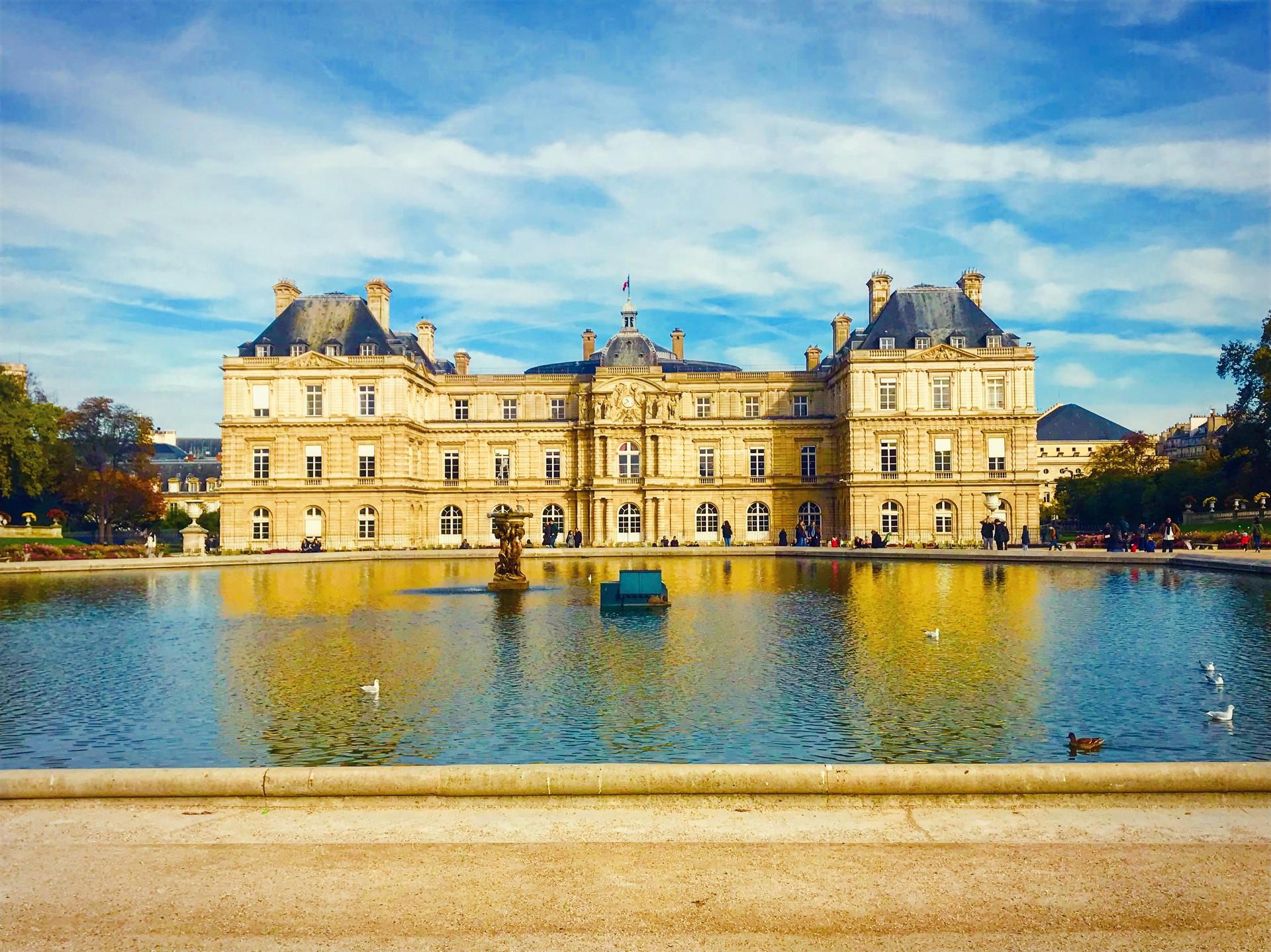 Jardin Du Luxembourg Erasmus Photo Paris